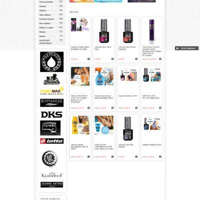 Crystal Cosmetics Interneta veikals